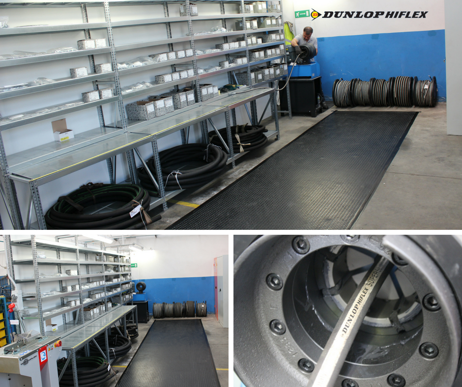 Assemblaggio e distribuzione tubi flessibili Hi-Flex Italia – Dunlop