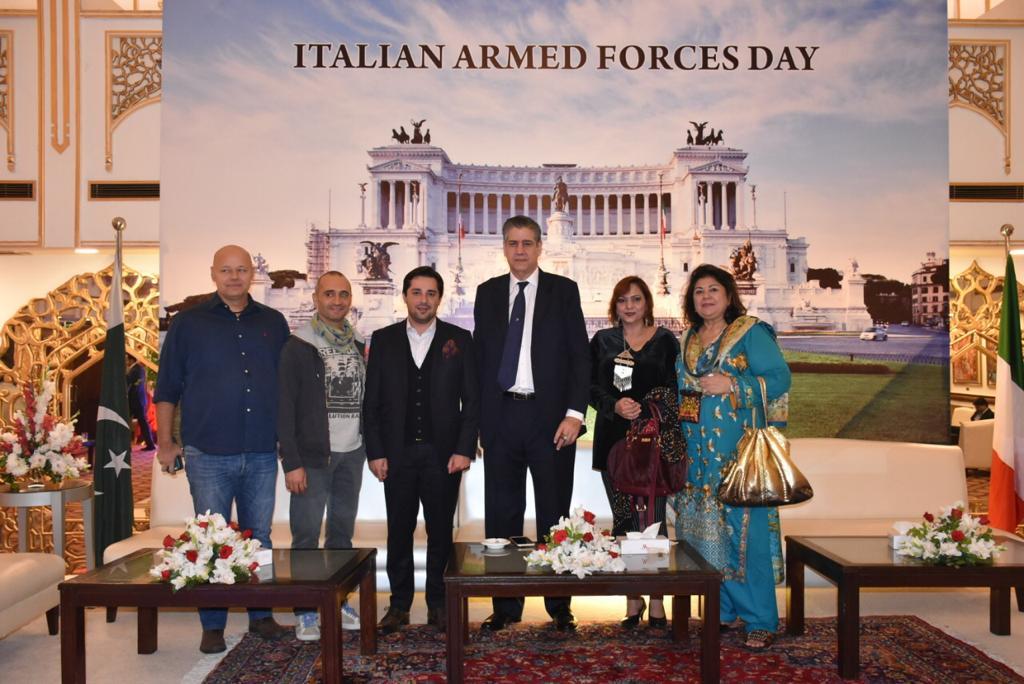 Meeting with Italian ambassador  in Pakistan